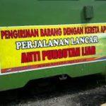 Pengiriman Cargo Kereta Api